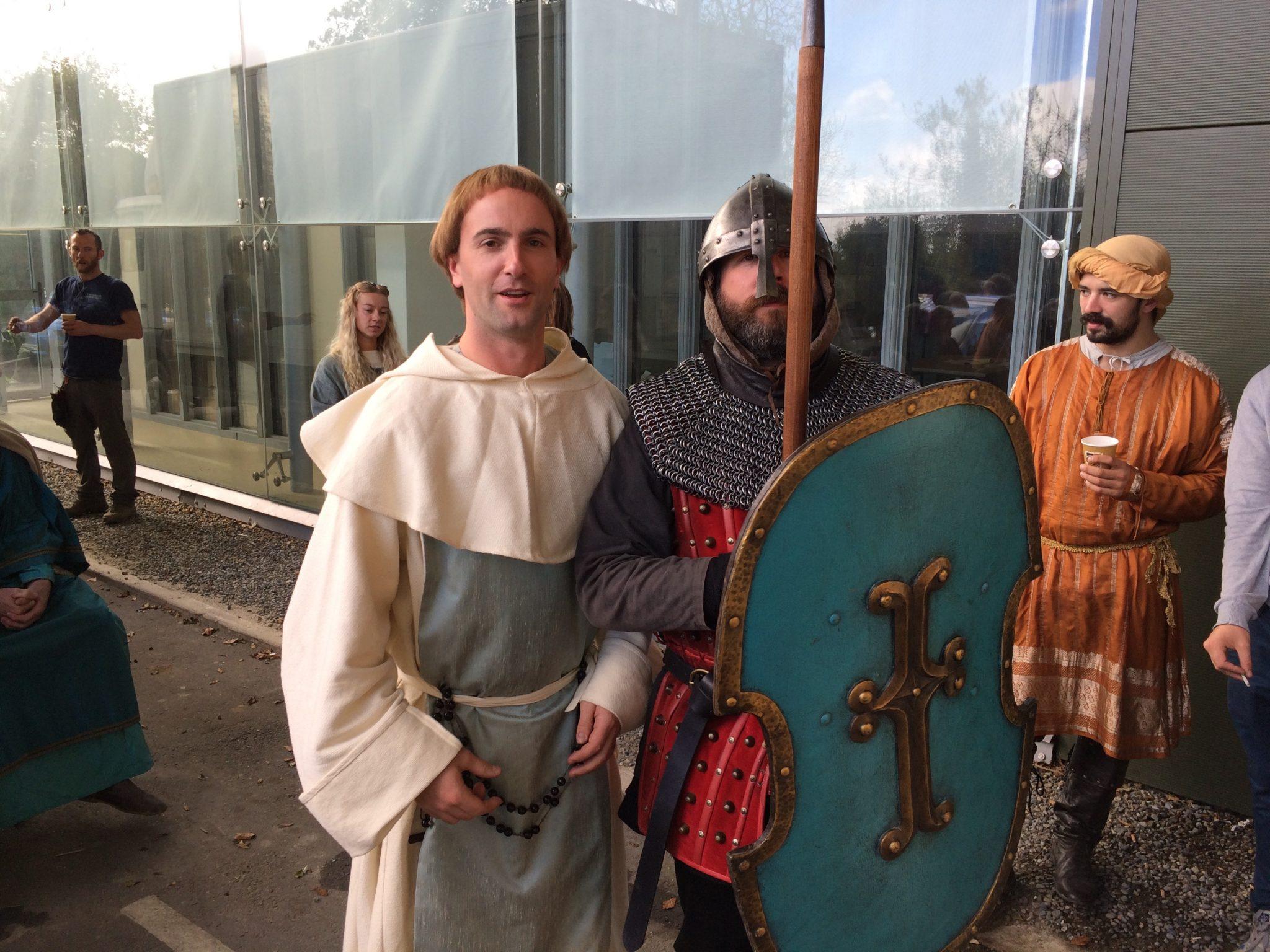 Vikings Ireland Crux chant monks