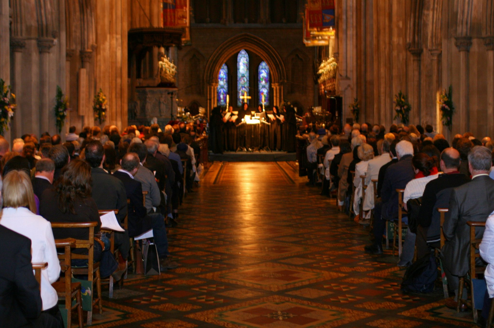 Fundraising concert for the Alzheimer's Society of Ireland, Crux Dublin St. Patrick's Cathedral
