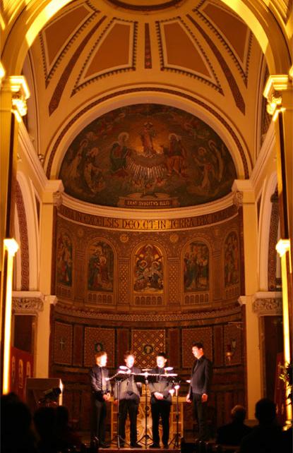crux church cabra dominican dublin ireland wedding music choir choral quartet